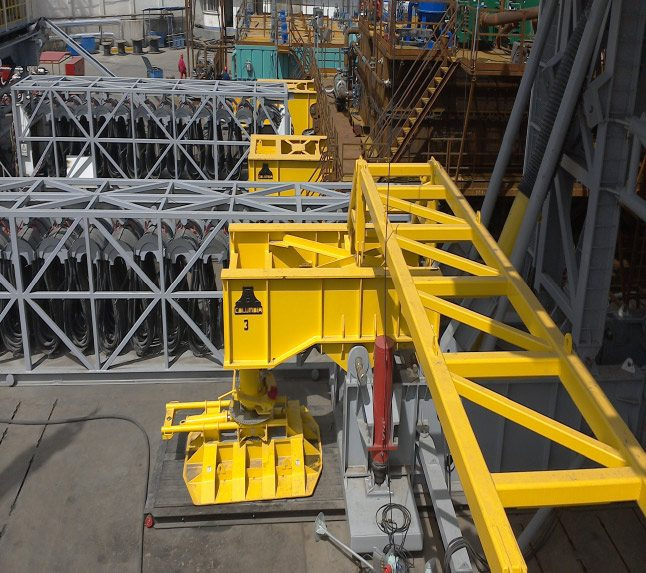 Atlas Oil Rig Walking System by Columbia Industries